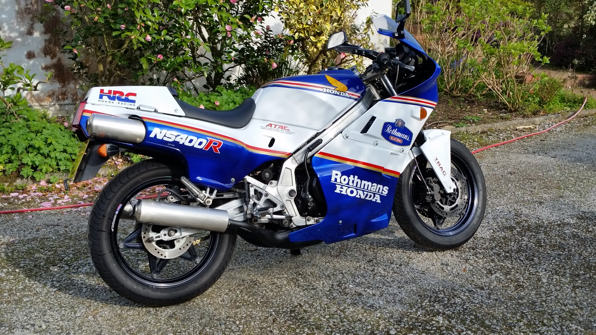 Honda NS400R Rothmans 1985 For Sale - 2-stroke Motorcycles ...